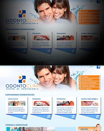 Desenvolvimento de Sites para Clínica Odontológica Odontoclini